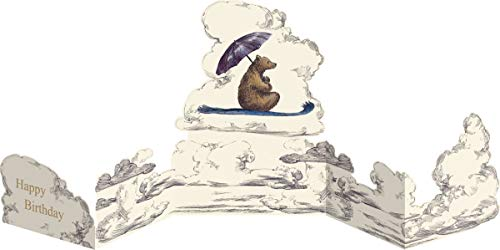 Unbekannt Roger-la-Borde Mondoodle Geburtstag Karte Aufklappbar Grußkarte Mondoodle Bär Surfen 17x12cm