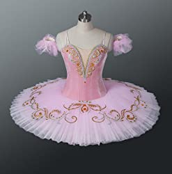 Pink Classical Professional Ballet Tutu for Competition & Performance
