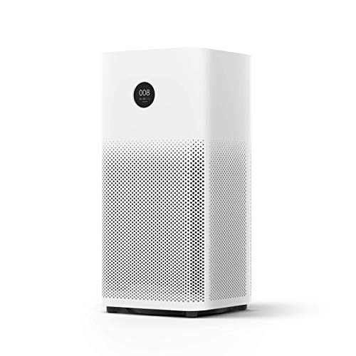 Xiaomi Mi Air Purifier 2s EU version - Purificador de aire, conexión WiFi y pantalla display, para estancias hasta 37m2,