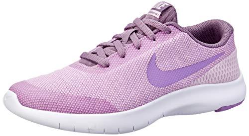 Nike Unisex Kinder Flex Experience Rn 7 (gs) Fitnessschuhe, Mehrfarbig (Lt Arctic Pink/Fuchsia Glow/Violet Dust 602), 36 EU