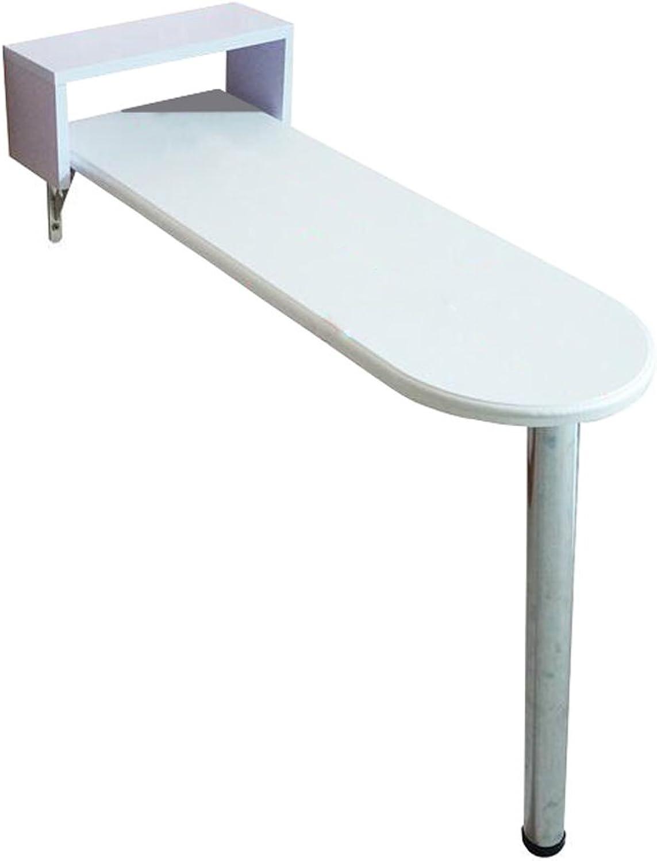 Wandtisch klappbar Wandklapptisch Holz-Wand-Drop-Leaf-Tabelle Küche und Esstisch Schreibtisch Daheim Büro Schreibtisch Arbeitsplatz wandtisch (Farbe   A)