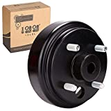 9.99WORLD MALL 10L0L Golf Cart Brake Drum Hub Assembly for EZGO TXT PDS 1982-up Electric & 1982-1993 2-Cycle Gas, Replace OEM# 19186G1P