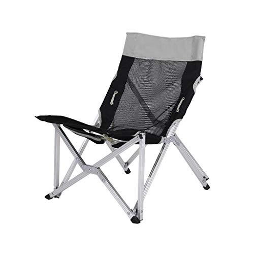 Decorative stool CSQ-Portable Chaise de Camping, Chaise d'extérieur légère et Pliante, chaises de Camping pour Enfants Pliable (Color : Gray)