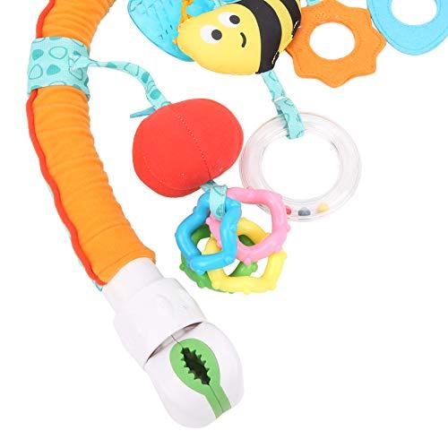 Lindo juguete para colgar, fácil de limpiar Cómodo y agradable a la piel Cochecito de juguete para colgar Portátil para bebé para uso general para salir para uso profesional(Bee models (OPP bag))