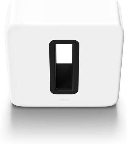 Sonos Sub Subwoofer Wireless per Bassi Profondi, Bianco Lucido