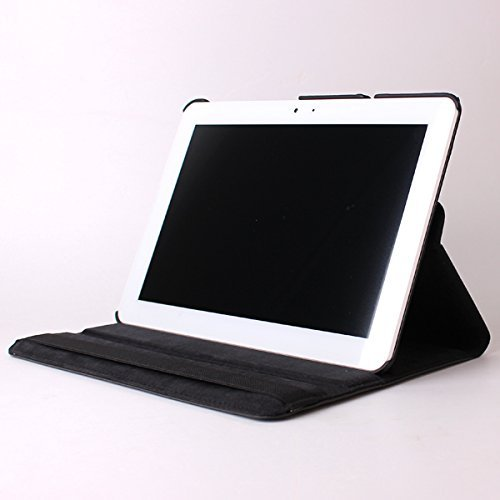 Funda giratoria para Tablet Bq Edison 3 Quad Core 10.1' Color: Negro + Accesorios 5 en 1