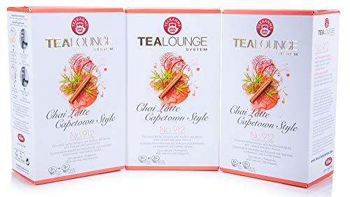 Teekanne Tealounge Kapseln - Chai Latte Capetown Style No. 912 Kräutertee (3x16 Kapseln)