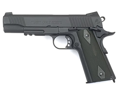 Colt 1911 Rail Gun Blackened Co2 Calibre 6mm. 1.1 Julios de potencia
