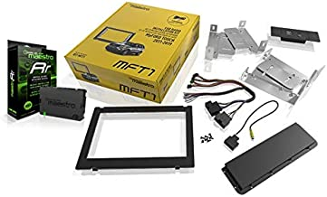 Sound of Tri-State Maestro ADS KIT-MFT1 Dash kit and T-Harness with ADS-MRR Solution for Select Ford Vehicles with The My Ford Touch Radio with Lanyard Bundle