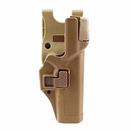 JINJULI Tactical Level 3 Auto Lock Duty Holster for Glock 17...