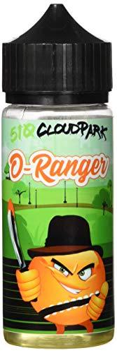 510 Cloud Park Aromakonzentrat O-Ranger, Shake-and-Vape zum Mischen mit Basisliquid für e-Liquid, 0.0 mg Nikotin, 1er Pack(1 x 20 ml)