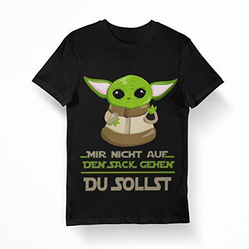 T-Shirt Mir Nicht auf den Sack gehen, Herren, Damen, lustig, witzig, Rundhals, (L)