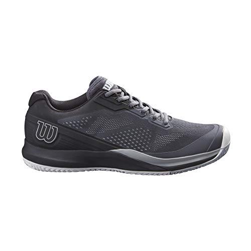 Wilson Rush Pro 3.5, Zapatos de Tenis Hombre, Turbulence/Black/Pearl Blue, 43 1/3...