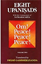 Eight Upanishads: v.2: Aitareya,Mundaka,Mandukya & Karika,and Prashna (Hardback)(Sanskrit) - Common