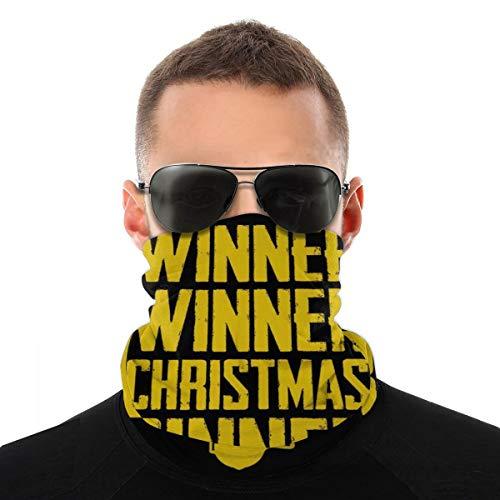 Winner Christmas Dinner Playerunknown Battlegrounds Kopftuch Fahrrad Magic Headwear Halstuch Gesicht Bandana Schal