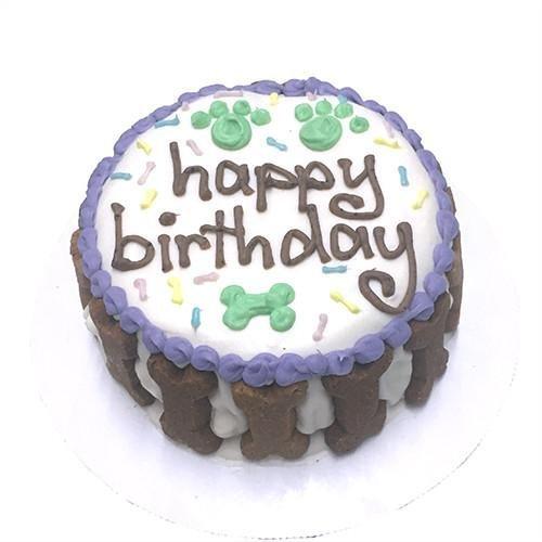 Amazon Happy Birthday Gourmet Organic Dog Cake Unisex Pet Supplies