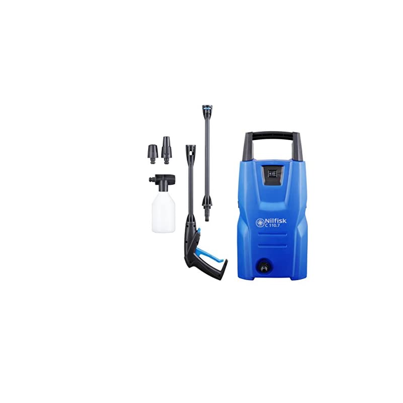 Nilfisk 128470920 C 110 bar C 110.7-5 Hochdruckreiniger, 1400 W, 240 V, Blau