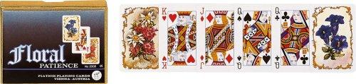 Piatnik - 2008 - Cartes à Jouer - Floral Patience - 2 x 55 Pièces
