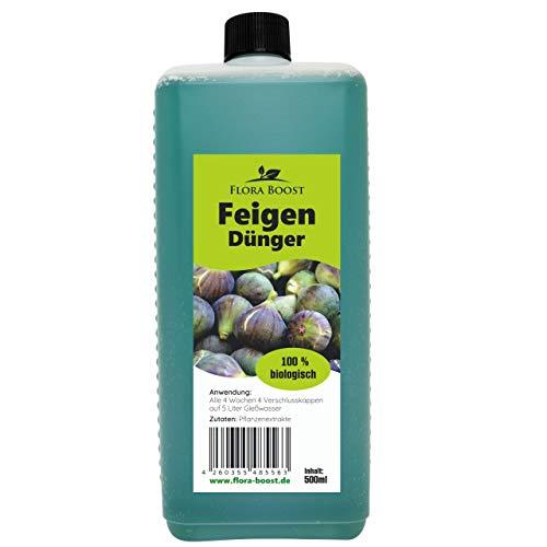 Konfitee Feigenbaumdünger - Feigenbaum Dünger für Gute Feigenernte und gesunde Pflanzen (500 ml)