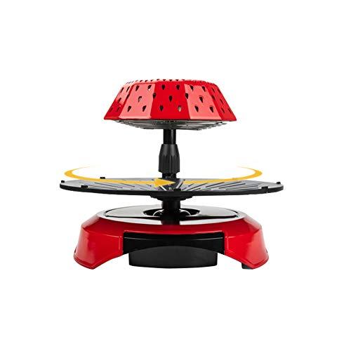 Grill électrique • Barbecue halogène • Table Grill • 1390 W • Elément Chauffant Four Infrarouge 3D • sans fumée • Gril Rotatif •Contrôle de la température - Cyclisme Thermique - Cuisson Double Face