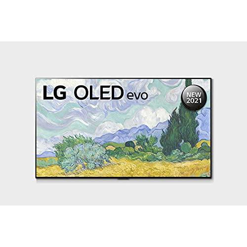 LG 139.7 cm (55 Inches) 4K Ultra HD Smart OLED TV OLED55G1PTZ (Black) (2021 Model)