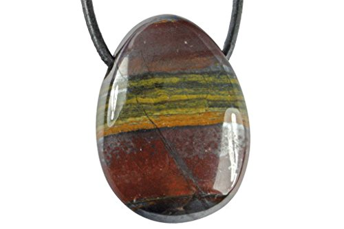Pendentif oeil de fer (pierre trouée)