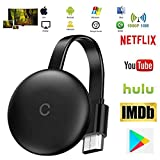 Stick De TV para El Nuevo Google Chromecast 3 para Netflix Youtube WiFi 1080P Pantalla HDMI Dongle Inalámbrica Miracast para Smartphone PC TV Monitor Proyector