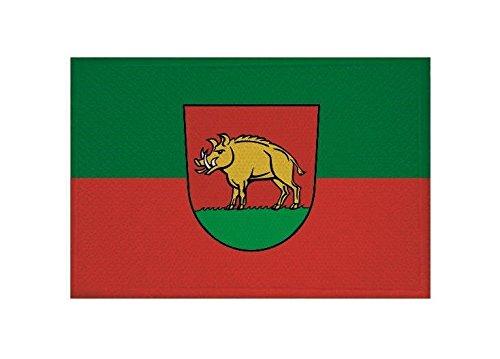 U24 Aufnäher Ebersbach an der Filz Fahne Flagge Aufbügler Patch 9 x 6 cm