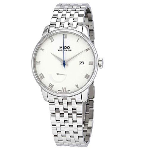 Mido Baroncelli Power Reserve reloj automático para hombre con esfera blanca M027.428.11.013.00