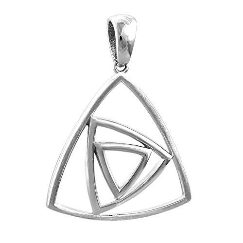 SilberDream Dreiecke Kettenanhän...