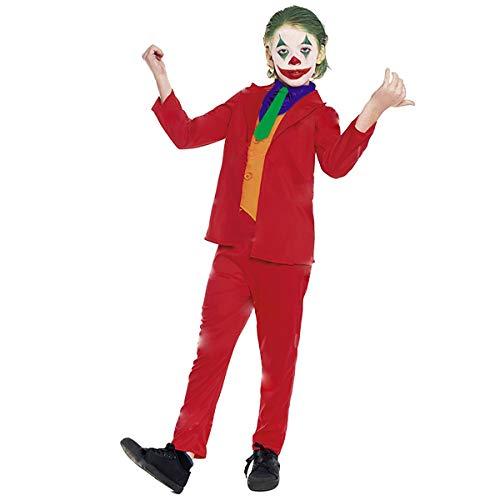 Partylandia Disfraz Niño de Carnaval Halloween Fiesta Cosplay - Mad Clown 7-9 años