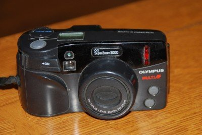 Olympus SuperZoom 3000 Film Camera with 38-110mm Zoom Lens
