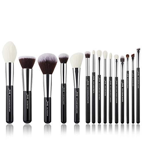 Jessup Beauty Make-up Pinsel Set Kosmetik Schmink 15 Stück Augen Gesicht Brush Lidschatten...