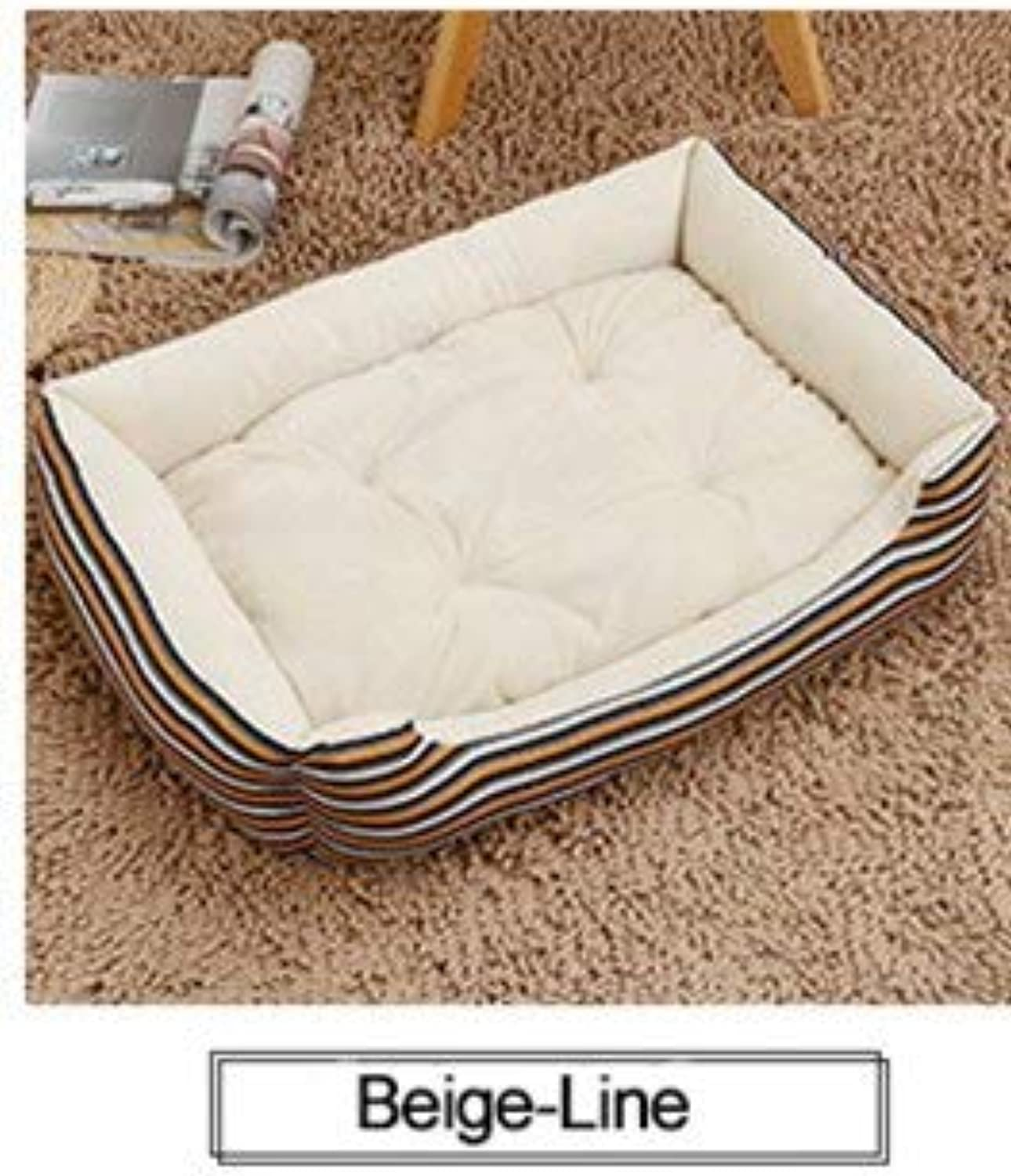 Aigou Dog Bed Grid Large Dog Bed Mat Kennel Soft Puppy Warm Bed House Pet Supplies Pet Cozy Nest For Small Medium Large Dogs