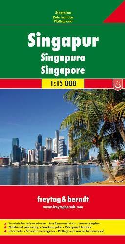 Freytag Berndt Stadtpläne, Singapur 1:15.000
