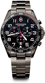 Victorinox - Hombre FieldForce Sport Chronograph - Reloj de Acero Inoxidable de Cuarzo analógico de fabricación Suiza 241890