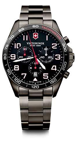 Victorinox Hombre FieldForce Sport Chronograph - Reloj de Acero Inoxidable de Cuarzo analógico de fabricación Suiza 241890