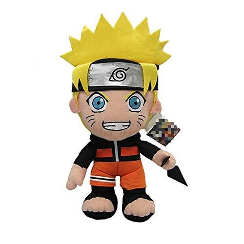 wqmdeshop Stofftier 30Cm Anime Naruto Uzumaki Naruto Plüschpuppenspielzeug Uzumaki Naruto Cosplay Kostüm Plüsch Weiches Stofftier Geschenk Für Kinder Kinder