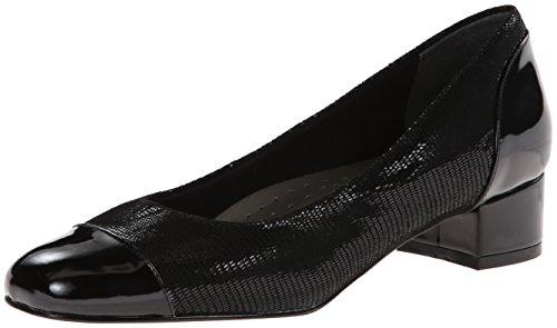 Trotters Women's Danelle, Black Patent, 7.5 N US