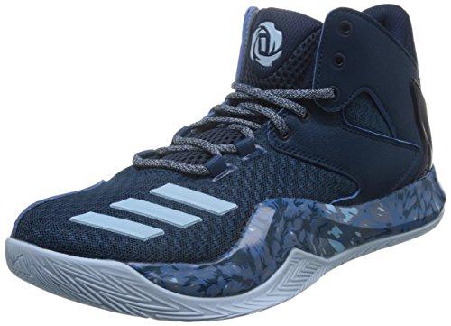 adidas Herren D Rose 773 V Basket, Mehrfarbig (Acetec / Azuhie / Maruni), 46