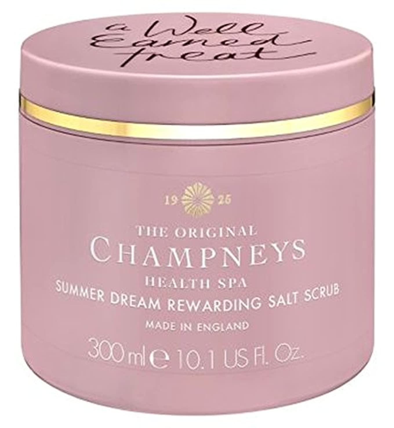 小さいスイ公爵チャンプニーズの夏の夢やりがいの塩スクラブ300ミリリットル (Champneys) (x2) - Champneys Summer Dream Rewarding Salt Scrub 300ml (Pack of 2) [並行輸入品]