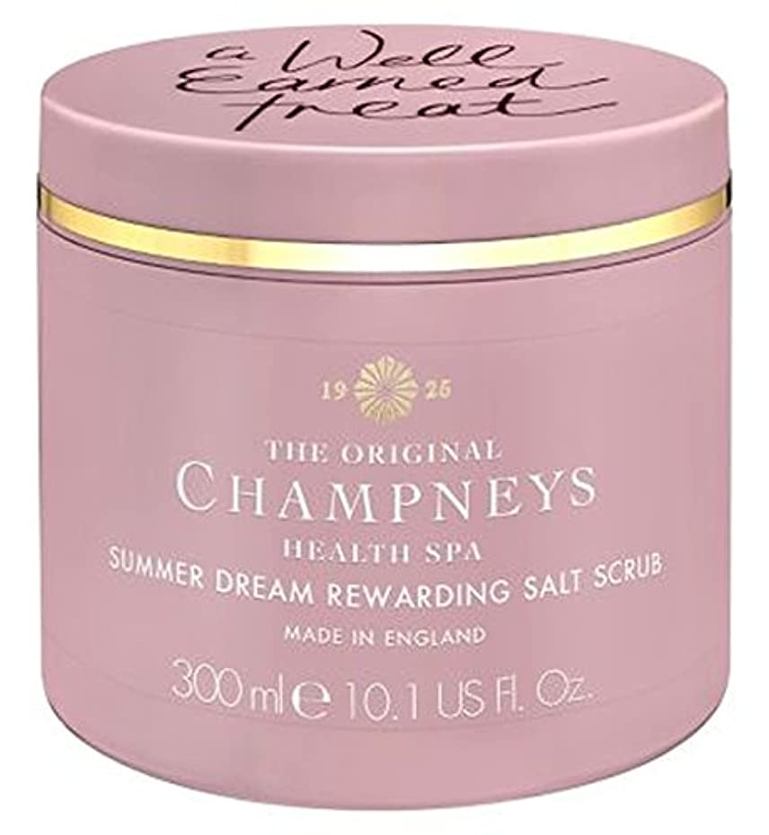気質欠陥大胆なChampneys Summer Dream Rewarding Salt Scrub 300ml - チャンプニーズの夏の夢やりがいの塩スクラブ300ミリリットル (Champneys) [並行輸入品]