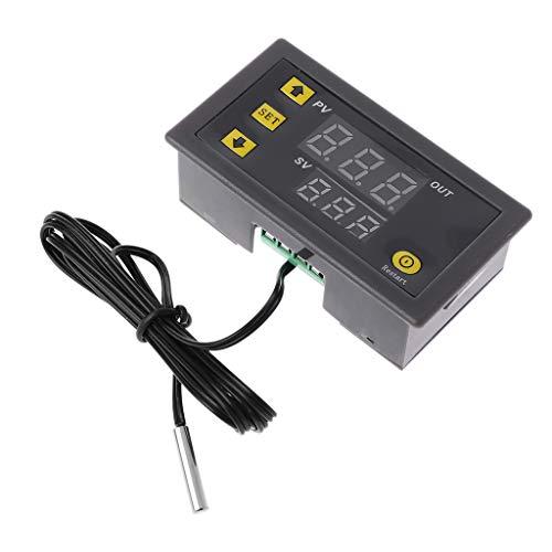 Qiman W3230 AC 110 V 220 V 20 A LED Régulateur de température numérique Thermomètre Interrupteur Capteur Capteur