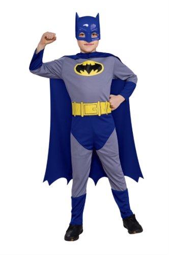 Rubie's-déguisement officiel - Batman- Costume Kit Blister Batman the Brave and the Bold - I-5287