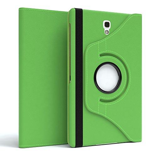 EAZY CASE Tablet Hülle kompatibel mit Samsung Galaxy Tab S 8.4, 360° Standfunktion I Schutzhülle mit Sleep und Wake Funktion I Tablethülle, Hülle aus Kunstleder, Grün