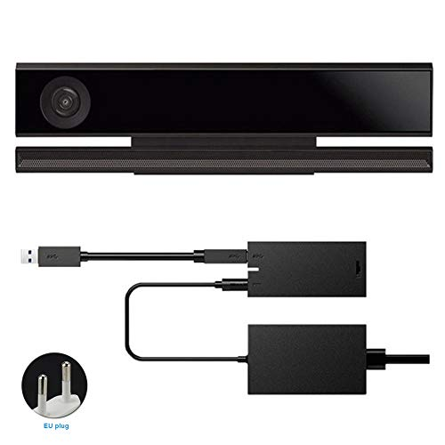 Behavetw Kinect 2.0 Sensor Power Adapter - Adaptador para Xbox One S Xbox One X, compatible con Windows 8/8.1/10, As Picture Show, eu plug