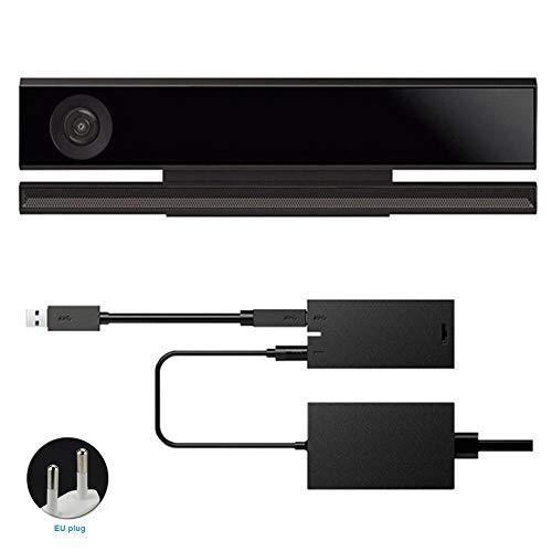 Behavetw Kinect 2.0Sensor adaptateur d'alimentation pour Xbox One S Xbox One X, pris en charge Système Windows 8/8.1/10, Voir image, eu plug