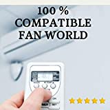 Fan World - Mando Aire Acondicionado Fan World - Mando a Distancia Compatible con Aire Acondicionado Fan World. Entrega en 24-48 Horas. Fan World MANDO COMPATIBLE.