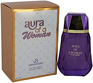 AURA OF A WOMEN Designer Perfume for Women by JEAN RISH Eau De Parfum 3.4 FL. OZ. 100ML Fragrance