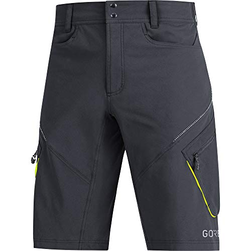 GORE WEAR Herren C3 Trail Shorts, Black, L EU